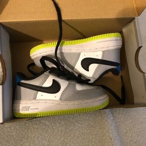 Toddler boys Air Force Ones